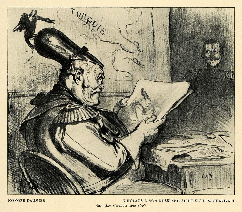 Оноре Домье. Николай I изучает карикатуру на самого себя.jpg